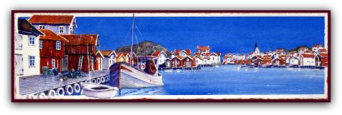 Grundsund Hamn Fine Art