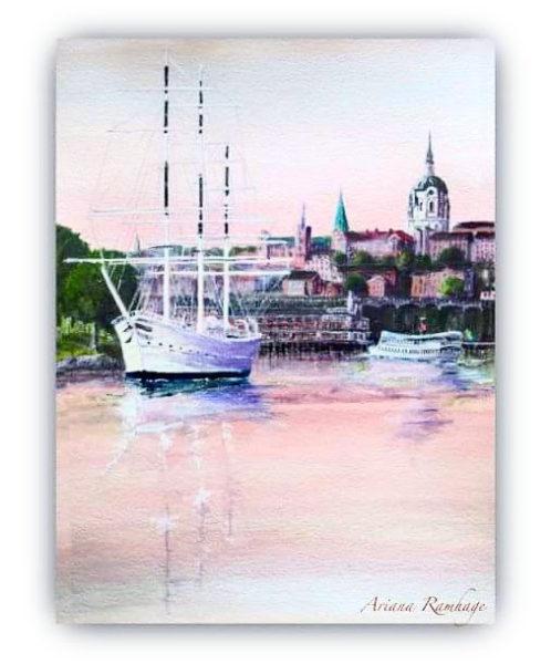 Stockholm av Chapman Fine Art