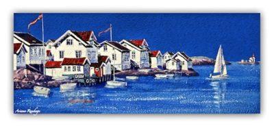Norge-Lyngør Fine Art Print