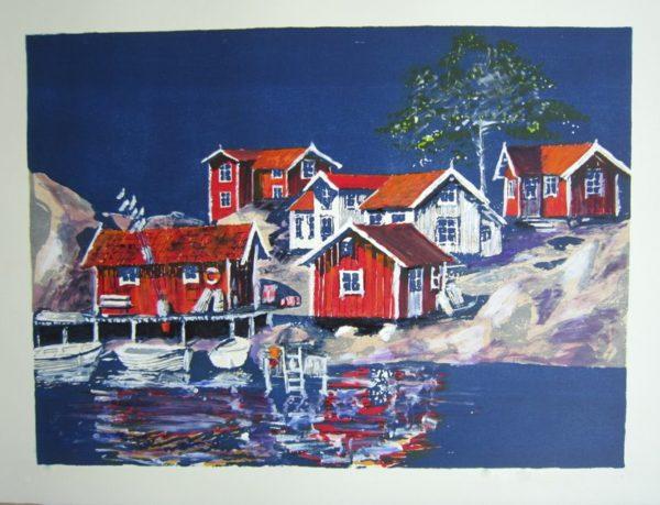 Bullerö-Hus och hav